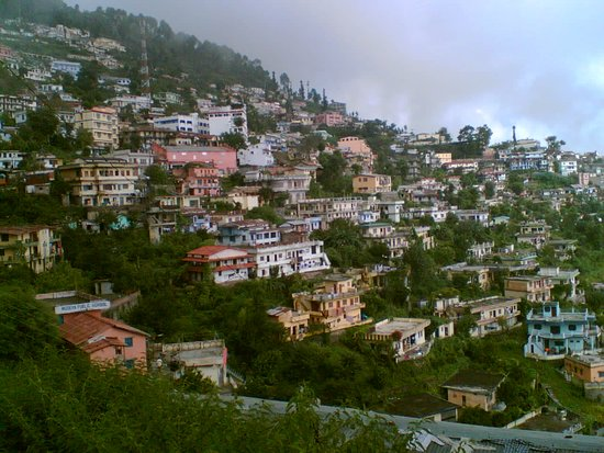 Pauri Garhwal District, Indien: it's simply heaven...... a city of mountain pauri garhwal