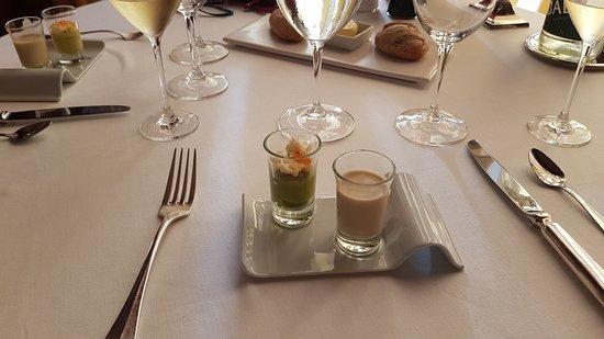 Cote Royal: Amuse bouche au cocktail