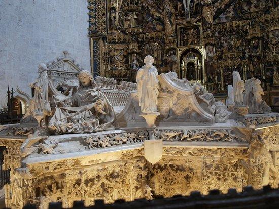 Resultado de imagen de Cartuja de Miraflores Sepulcros Reales