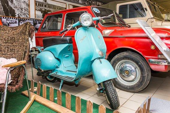 Perm Car Museum Retro Garage: Мотороллер Вятка