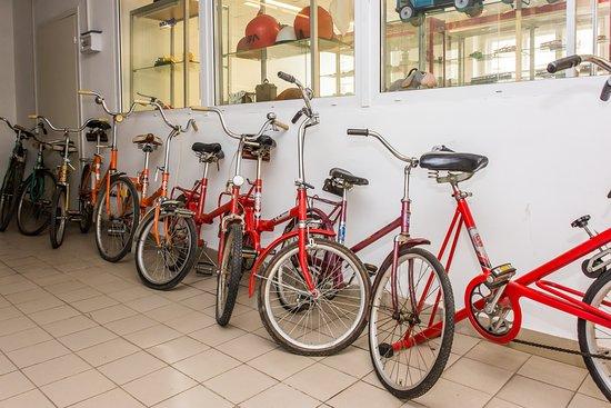 Perm Car Museum Retro Garage: Советские велосипеды