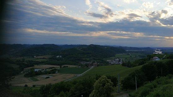 Gabiano, Italia: Vista dalla Terrazza