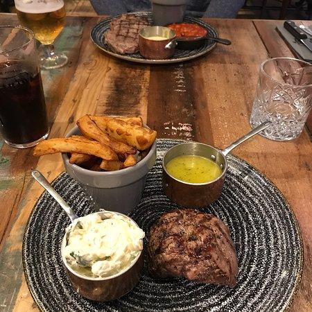 Beautiful tasting steak!!
