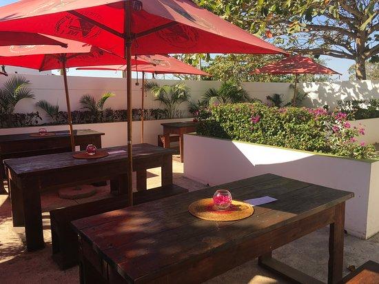 Marracuene, Mozambique: Our Beer Garden