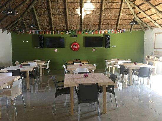 Marracuene, Mozambique: Sports Bar
