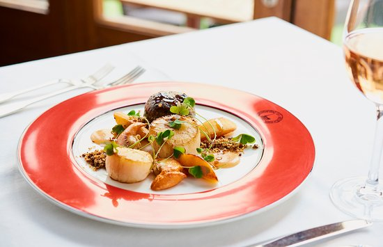 Boisdale Canary Wharf: Delicious scallops