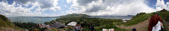 Lake Sevan, Armenia: a panorama