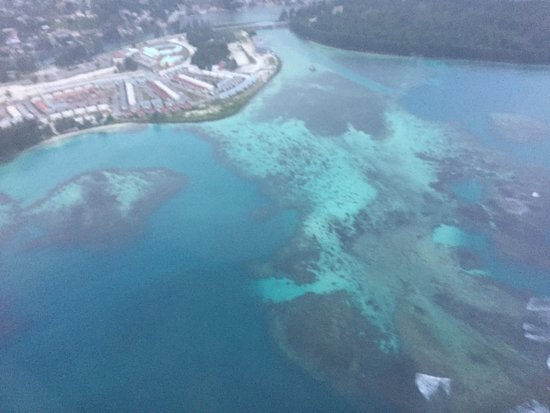 Air Seychelles: Great view 2