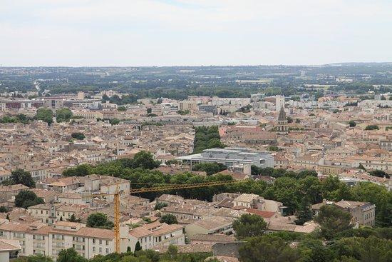 Tour Magne: Vue sur la ville