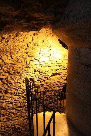 Tour Magne: L'escalier principal