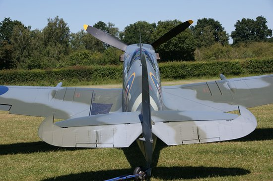 The Shuttleworth Collection: The collection's newly restored Spitfire Mk Vc