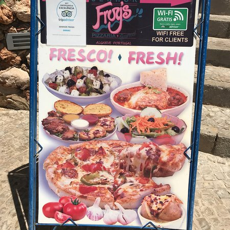 Senhor Frogs Pizzeria Foto