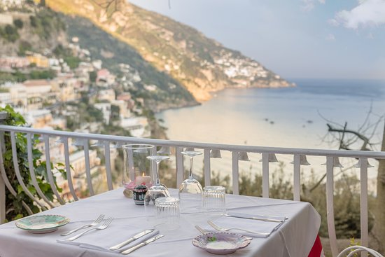 View From Restaurant Picture Of Il Tridente Positano