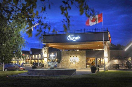Val d'Or, Kanada: entrée Hôtel