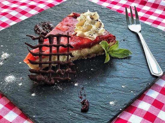 Zilina Region, Slovakia: sladký domáci dezert