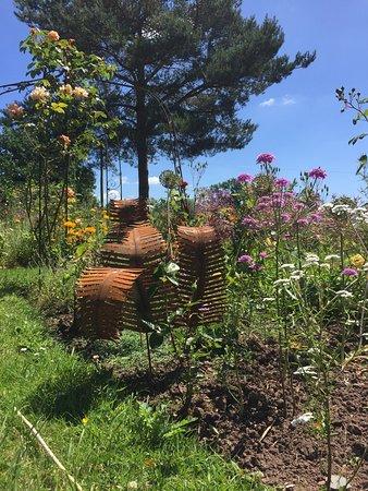 Sculptures In The Garden Picture Of Court Robert Arts Raglan