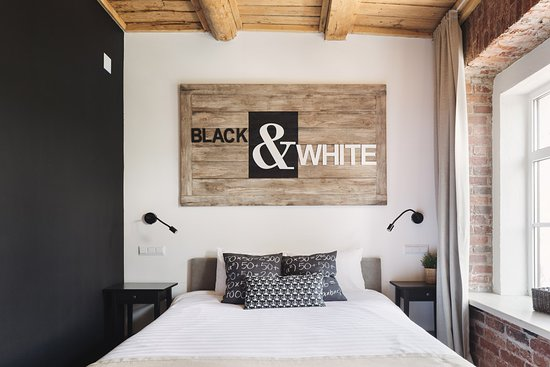 "Boutique-Hotel Truvor: Номер ""Blaсk&White"""