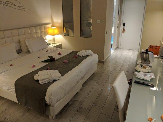 Princess Andriana Resort & Spa: Honeymoon arrival