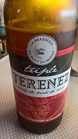 Creperie Maeligwen: Bière locale TERENEZ Triple