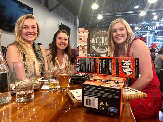 Bloomington, IN: Board games are available in our all-ages taproom