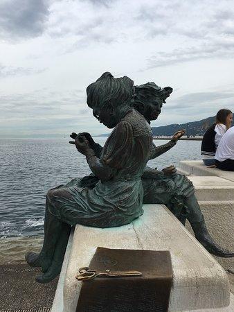 Transferencia entre Venecia y Piran (Eslovenia): At the pier