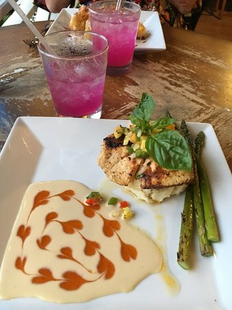 The Garden Island Grille: Today's catch at The Garden Island Grill!