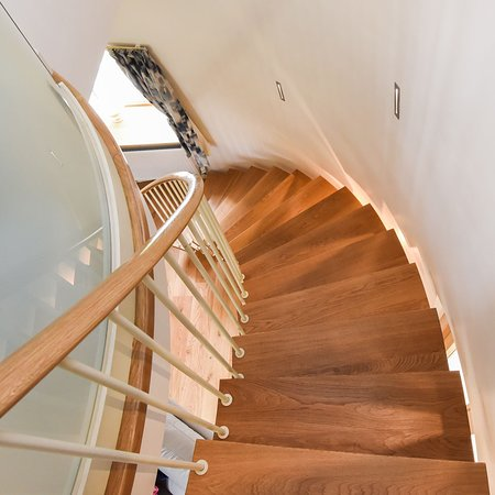 Paston, UK: Stow Mill - Helical staircase
