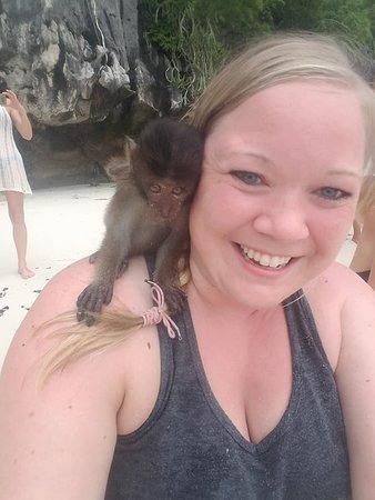 Phi Phi Pirate Boat: Monkey Beach!