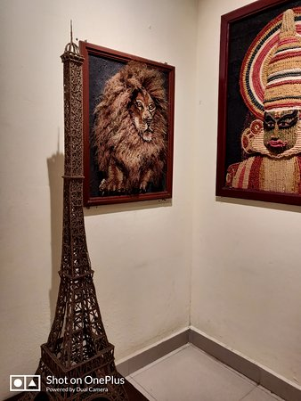International Coir Museum: Eiffel Tower