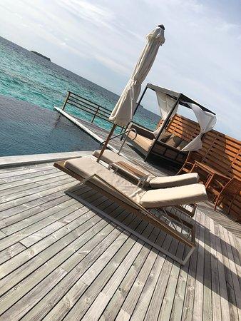 Baros Maldives: Views on the sea villa