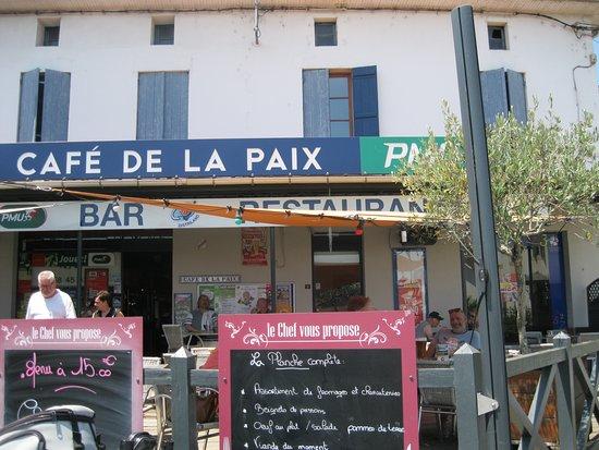 Roquefort, Frankreich: La façade en terrasse