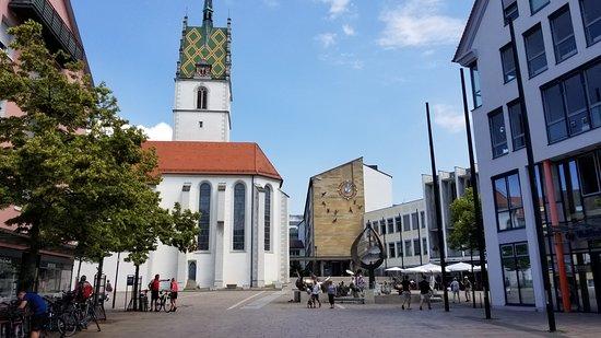 Buchhorner Hof: St. Nicholas Church and Town Hall