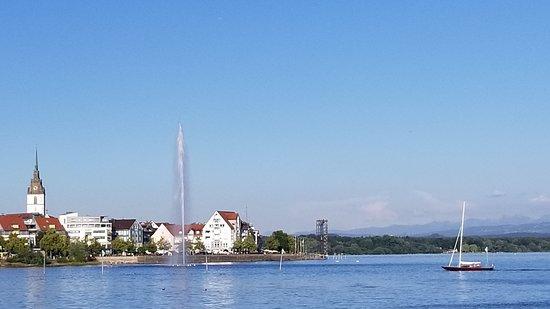 Buchhorner Hof: City view from the lake
