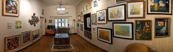 Ambala, India: Panoramic View of the Art Gallery
