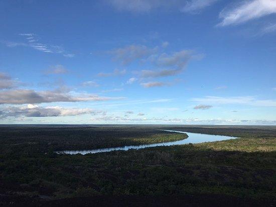 Inirida, Kolumbien: vista desde el cerro Mavecure.
