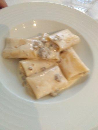 Trattoria Caffetteria da Giovanni: Paccheri gorgonzola e salsiccia