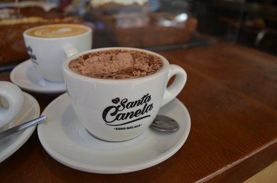 Santa Canela: Chocolate? ¡Siempre es un buen momento!