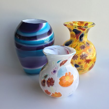 Peoria, IL: Collection of glassblowing demonstration pieces from Private Event