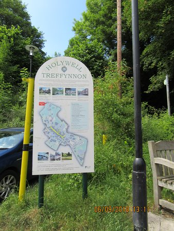 País de Gales, UK: Holywell _ St. Winifred's Well, Wales