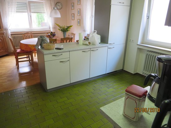 Ringsheim, Jerman: This a look from the kitchen into the dining area.