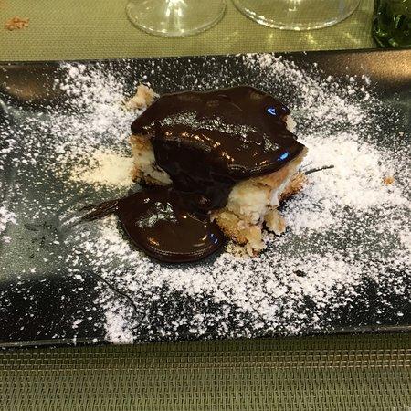 Braceria 360º: Cassata siciliana con cioccolato fuso