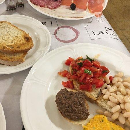 Meilleur restaurant que nous ayons fait en Italie!