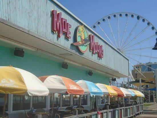 Myrtle Beach Boardwalk Promenade Restaurant On