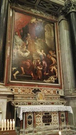 Chiesa del Gesu e dei Santi Ambrogio e Andrea : Rubens: Sant'Ignazio guarisce un'ossessa