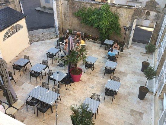 Terrasse En Hauteur Picture Of L Authentique Avallon Tripadvisor