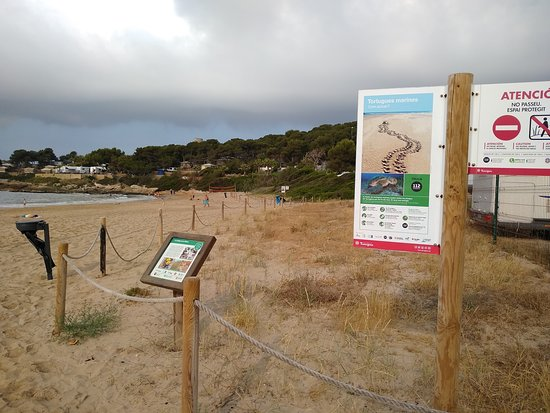 Tamarit, إسبانيا: Camí de Ronda Tamarit-Tarragona: platja de la Mora