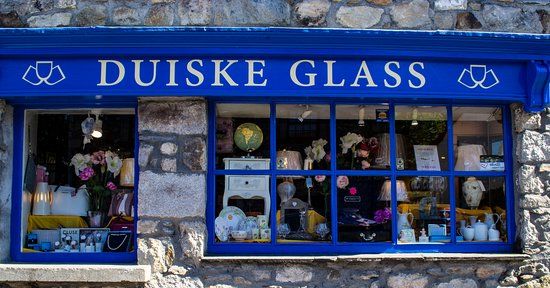 Duiske Glass: Shop Windows