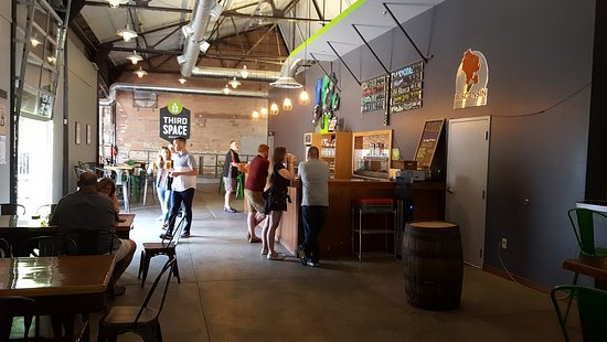 Third Space Brewing: Wide open spaces on the inside