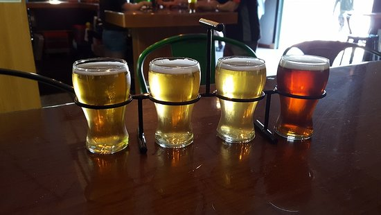 Third Space Brewing: Flight sampler of excellent beer