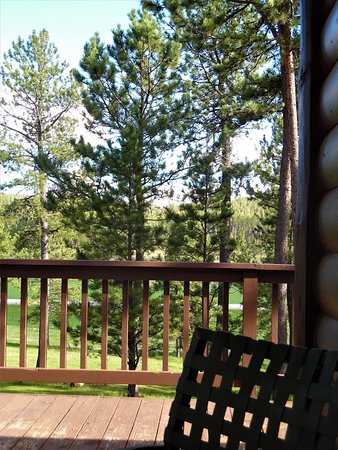 Balcony - Picture of Hell Canyon Horse Camp, Custer - Tripadvisor